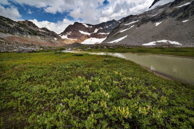 Upper Lyman Lake, Glacier Peak Wilderness