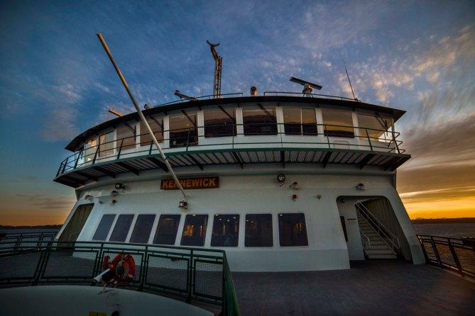 Washington State Ferry Sunrise Crown
