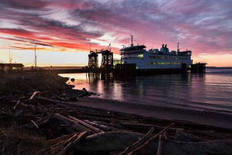 Washington State Ferry - Coupeville