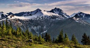 Ruth Mountain and Mount Shuksan
