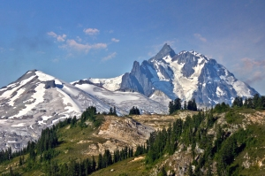 Mount Shuksan from Copper Ridge Lookout