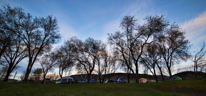 Palouse Falls State Park Campground