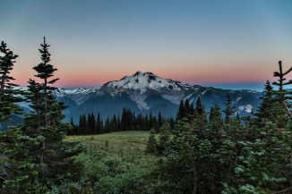 Glacier Peak, Sunrise