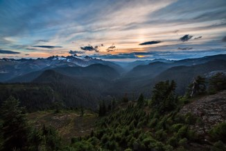 Nooksack Valley from Park Butte Lookout