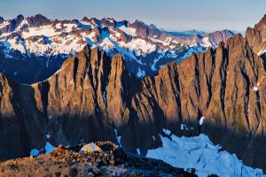 Sahale camp and ridge 2015