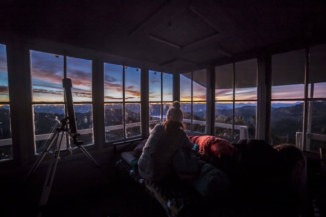 Morning at the Park Butte Lookout