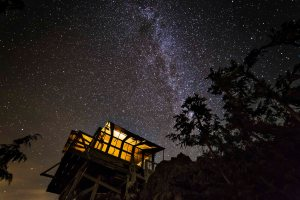 Park Butte Lookout and the Milky Way 1