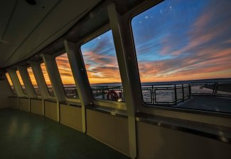 Sunrise on the Ferry 6