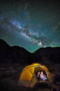 Camped under the Milky Way 2016