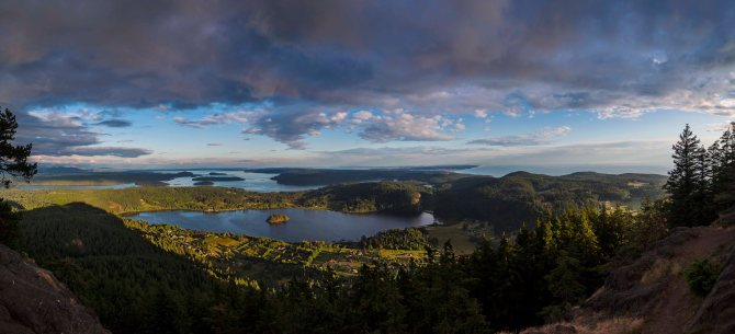 View from Mount Erie, Anacortes