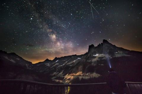 Light Show at Washington Pass