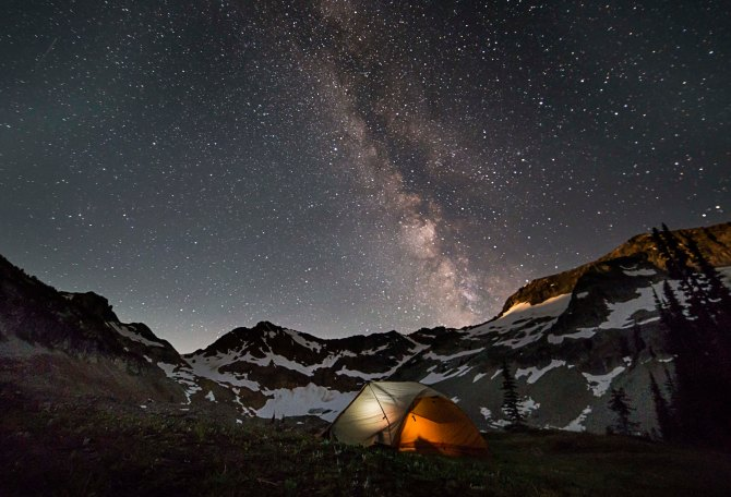 Milky Way over Spider Gap 4