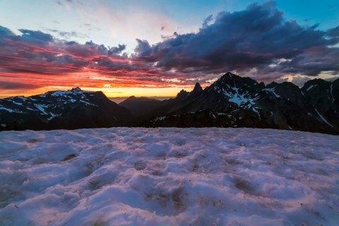 Winchester Mountain Sunset 2