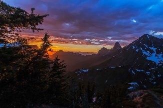 Winchester Mountain Sunset