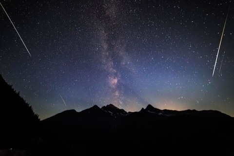 Perseid Meteor Shower, Aug. 11, 2016