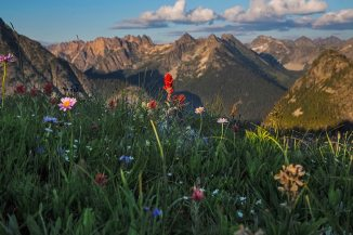 Sunset at Maple Pass, North Cascades