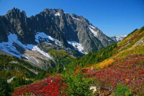 Above Cascade Pass