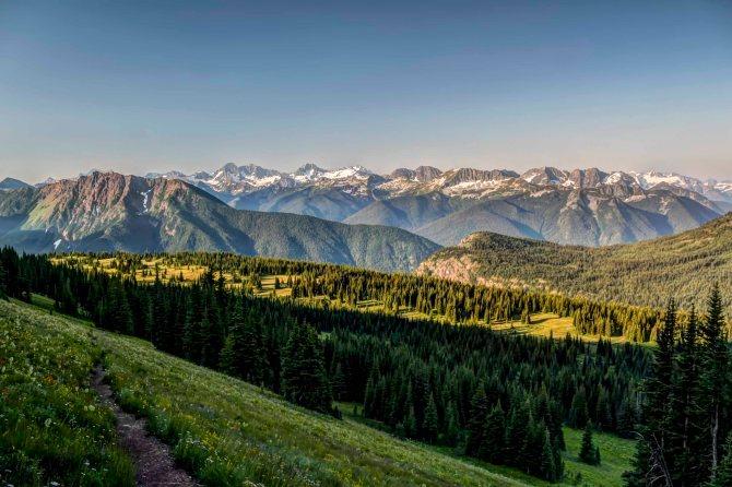Cascade Crest from Jackita Ridge Trail, Pasayten Wilderness