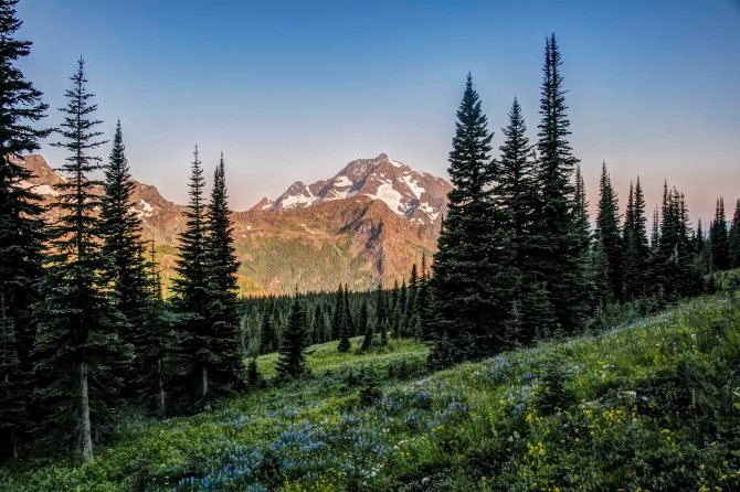 Jack Mountain, Pasayten Wilderness
