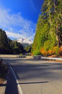 Mt Baker from Baker Lake Road