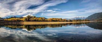 Mt Baker and Mt Shuksan