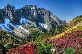 Above Cascade Pass, North Cascades National Park