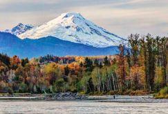 Skagit River and Mount Baker