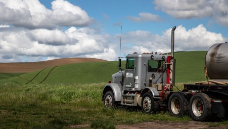Palouse-Truck-and-Clouds