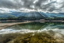 Baker Lake Sunrise