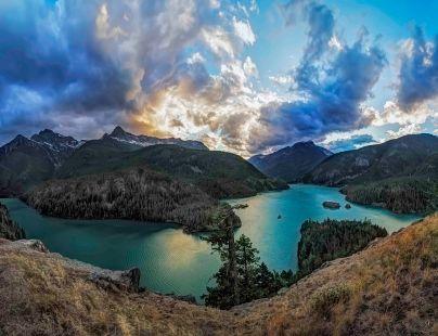 Diablo Lake Overlook