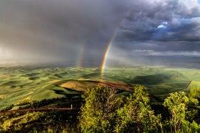 Rainbow-close-up