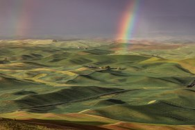 Rainbow-Over-the-Palouse-from-Steptoe-Butte